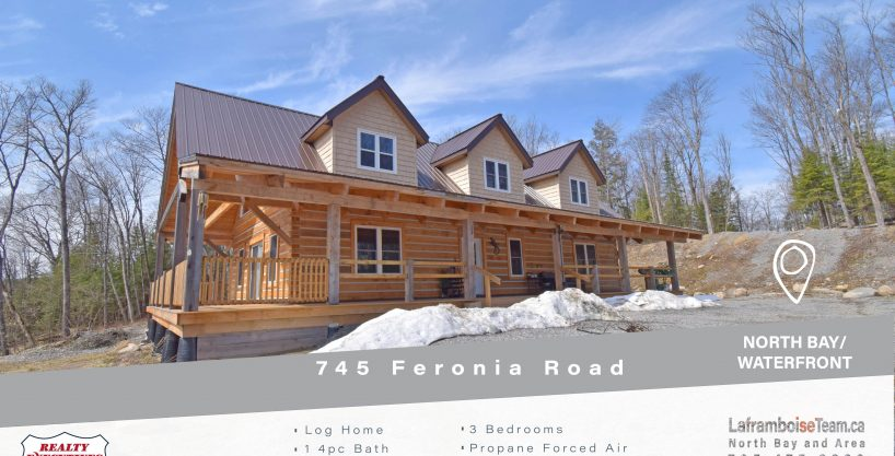 745 Feronia Road, North Bay Waterfront