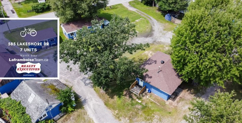 585 Lakeshore Dr,  7 Unit Income Property, North Bay, ON